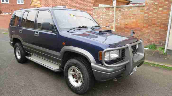 Isuzu Bighorn. Isuzu car from United Kingdom