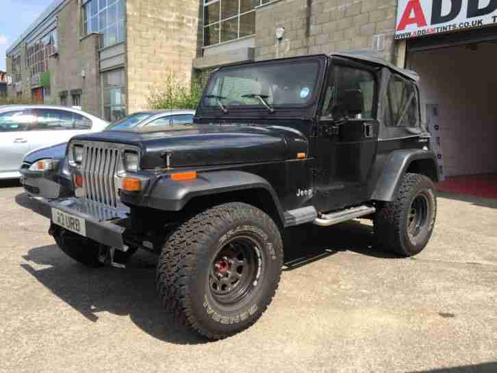 Jeep 1995 Wrangler 2 5 Black Lifted With Lpg  Car For Sale