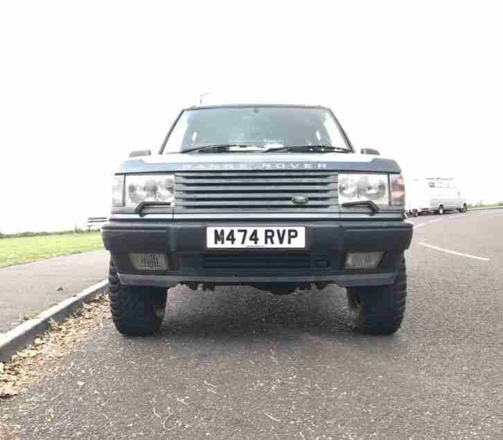 Land Rover 4 Hse: 1995 Land Rover Range Rover HSE 4x4 OFF ROAD Px, Swap. Car