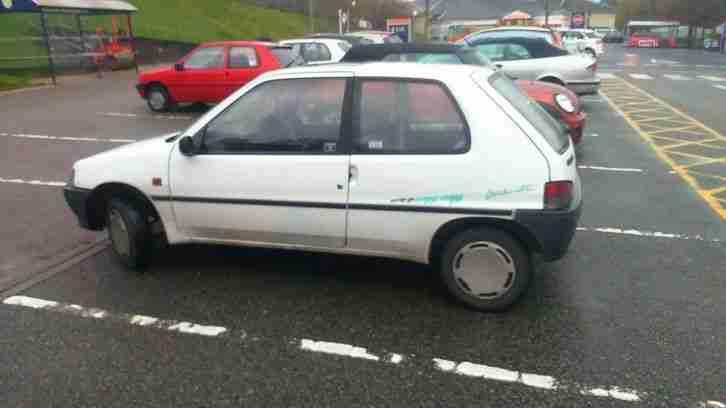 Peugeot 1995 106 1.1 GRADUATE. Low Miles, New mot. car for sale
