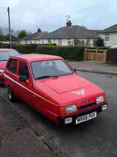 1995 RELIANT ROBIN LX RED