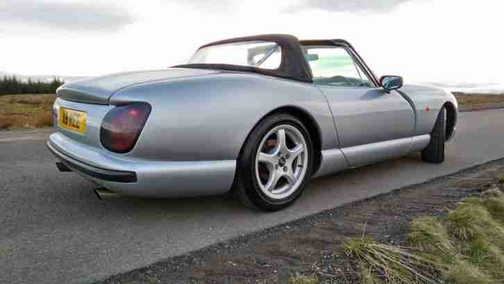 tvr 1995 chimaera 4 0 silver grey interior car for sale. Black Bedroom Furniture Sets. Home Design Ideas