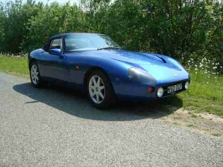 tvr 1995 griffith 500 hc cobalt blue current owner 14 years genuine. Black Bedroom Furniture Sets. Home Design Ideas