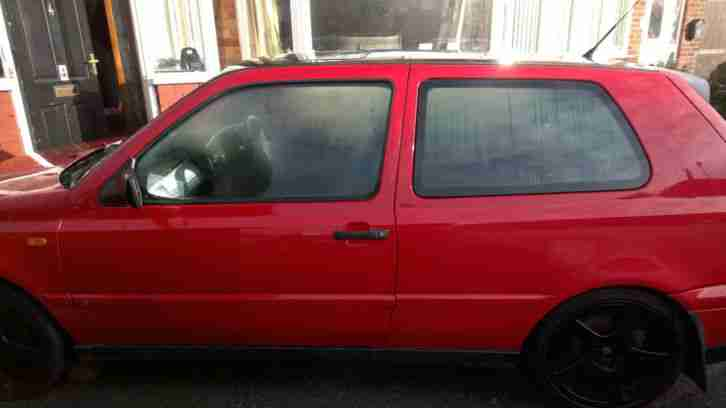 1995 VOLKSWAGEN GOLF VR6 RED
