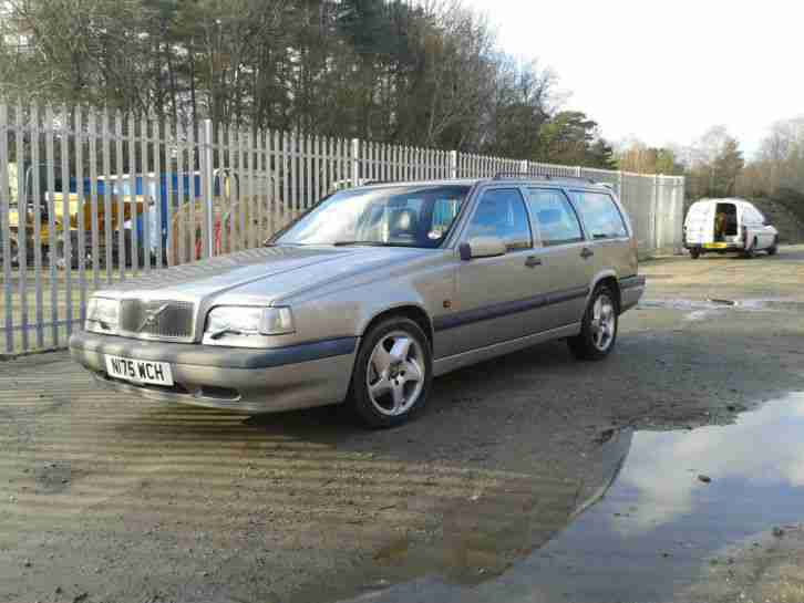 Volvo 1995 850 T5 GLT AUTO SILVER. car for sale