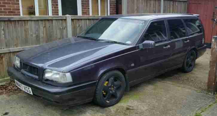 volvo 1995 850 t5r s mauve purple rica 340bhp chipped project car for sale. Black Bedroom Furniture Sets. Home Design Ideas