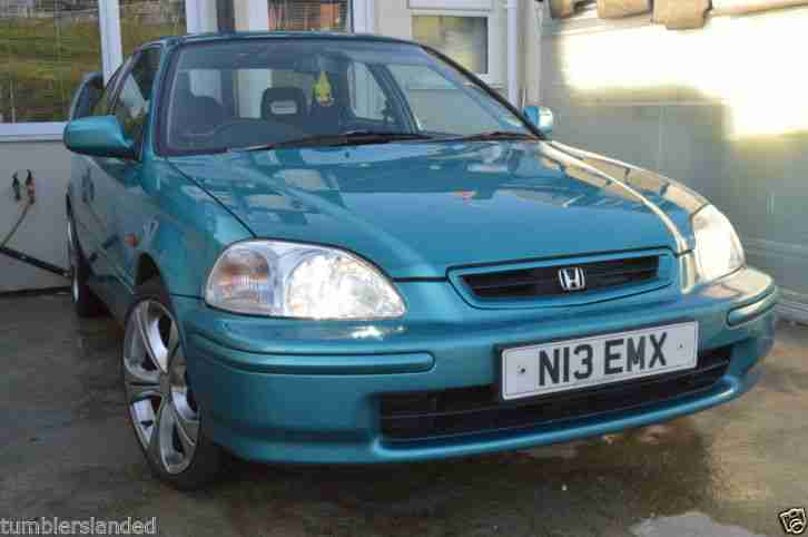 Honda 1.4I. Honda car from United Kingdom