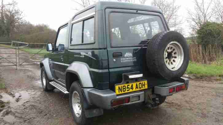 1996 DAIHATSU FOURTRAK FORESTER TDX GREEN/GREY