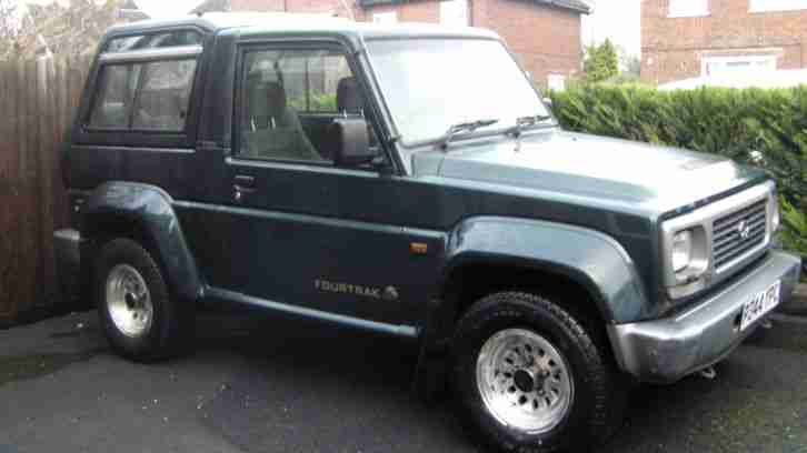 Daihatsu FOURTRAK. Daihatsu car from United Kingdom