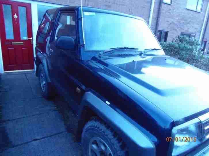 daihatsu 1996 sportrak elx i blue grey low miles cam belt