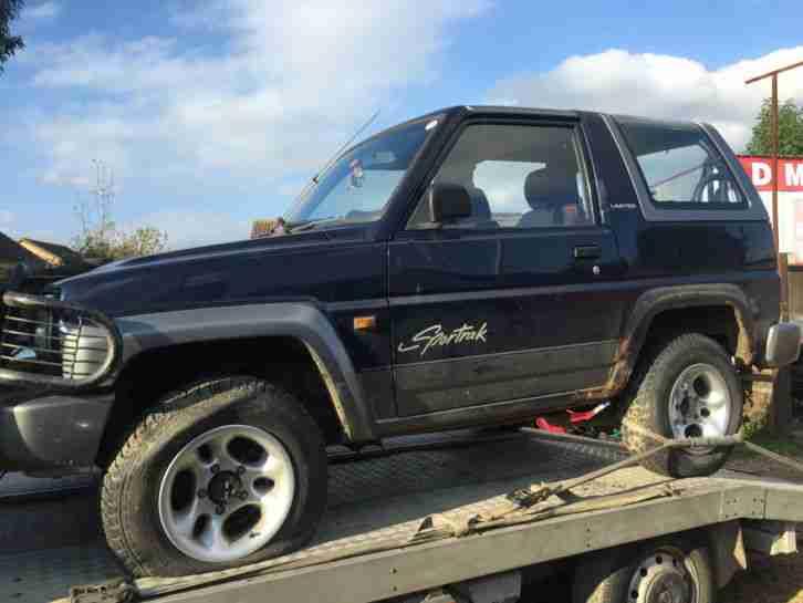 1996 Diahatsu Sportrak 1 6 Elxi Petrol Spares Or Repair border=