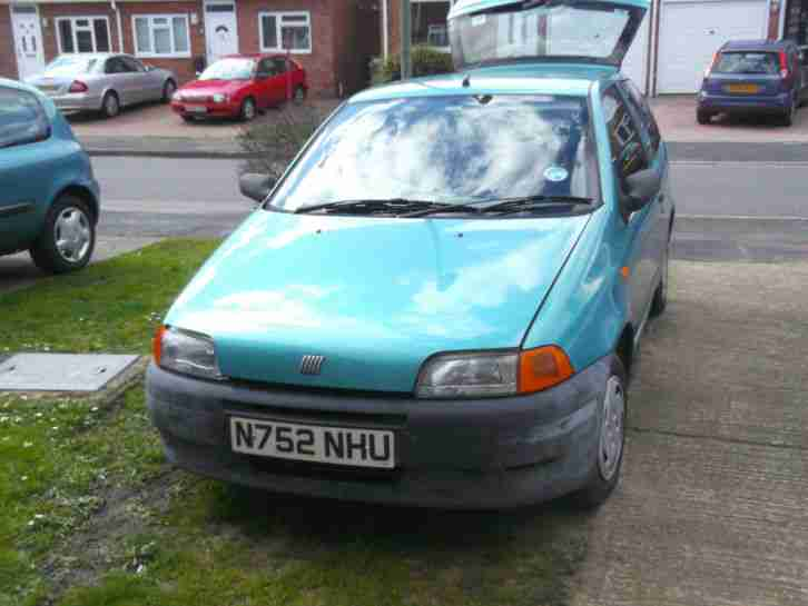 fiat 1996 punto 55 s 49k miles clean bodywork but no mot rust issue. Black Bedroom Furniture Sets. Home Design Ideas