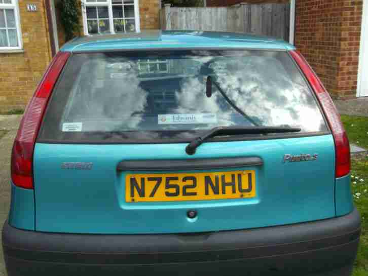 1996 FIAT PUNTO 55 S 49k miles clean bodywork but no mot rust issue £80 buys
