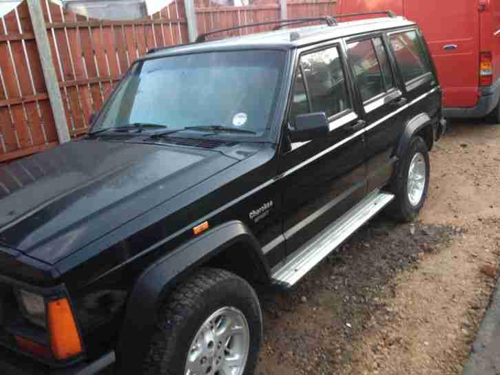 jeep 1996 cherokee td sport black 2 5 turbo diesel 4x4 off. Black Bedroom Furniture Sets. Home Design Ideas