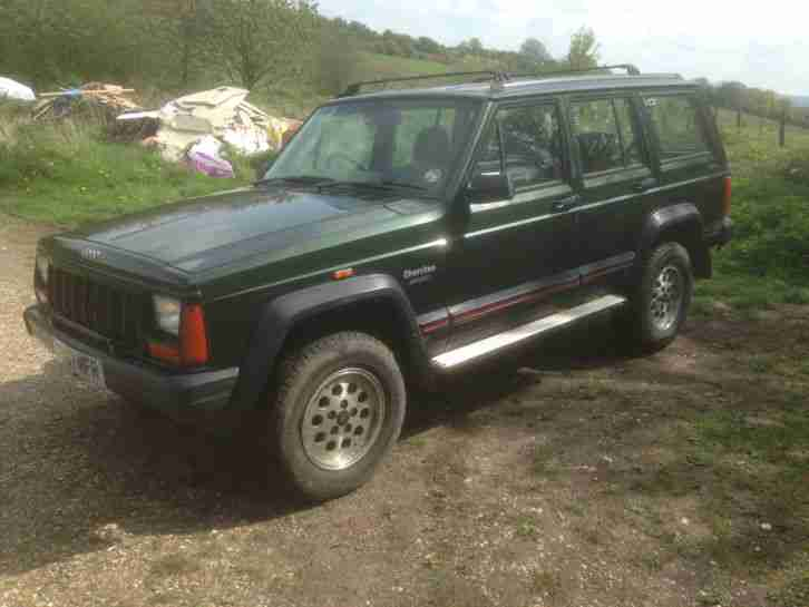 1996 CHEROKEE TD SPORT GREEN SPARES OR