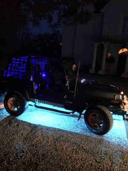 1996 JEEP WRANGLER 4.0 BLACK
