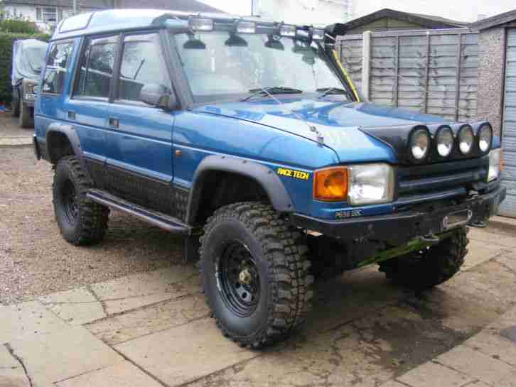 1996 land rover discovery 300 tdi blue off roader loads of new parts. Black Bedroom Furniture Sets. Home Design Ideas
