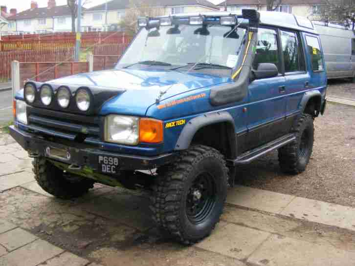 1996 Land Rover Discovery 300 Tdi Blue Off Roader Loads Of