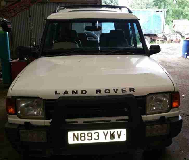 1996 LAND ROVER DISCOVERY ES TDI WHITE. Car For Sale