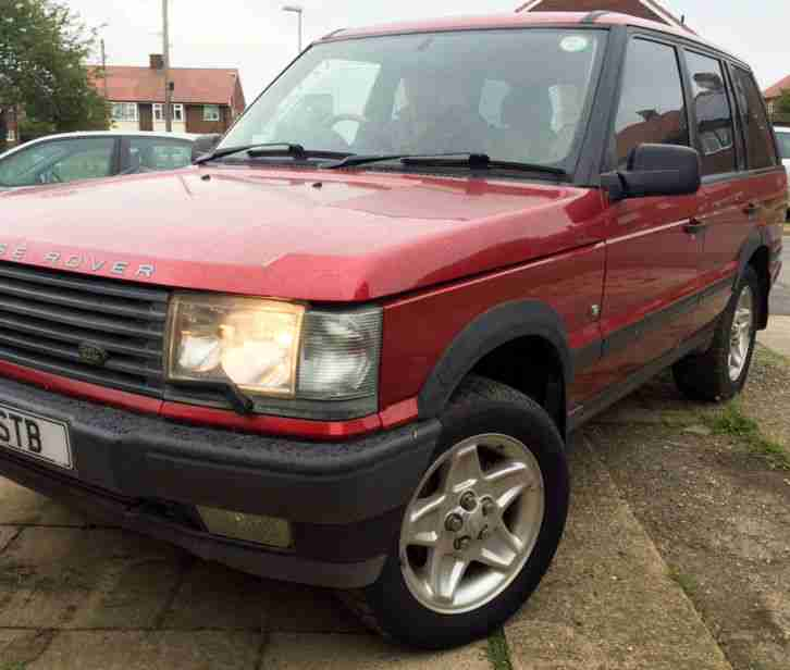 1996 LAND ROVER RANGE ROVER HSE AUTO RED (AUTOBIOGRAPHY