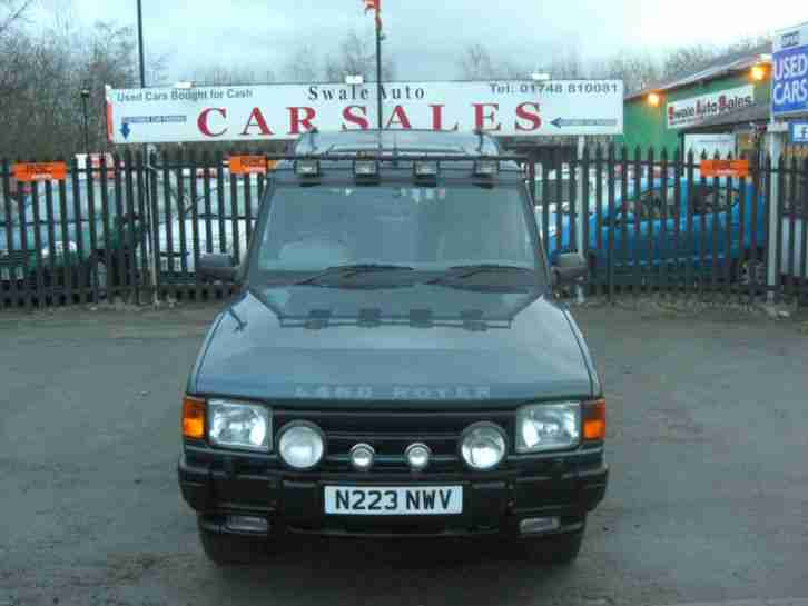1996 LANDROVER DISCOVERY ES TDI AUTOMATIC 2.5 FULL SERVICE HISTORY 4 WHEEL DRIVE