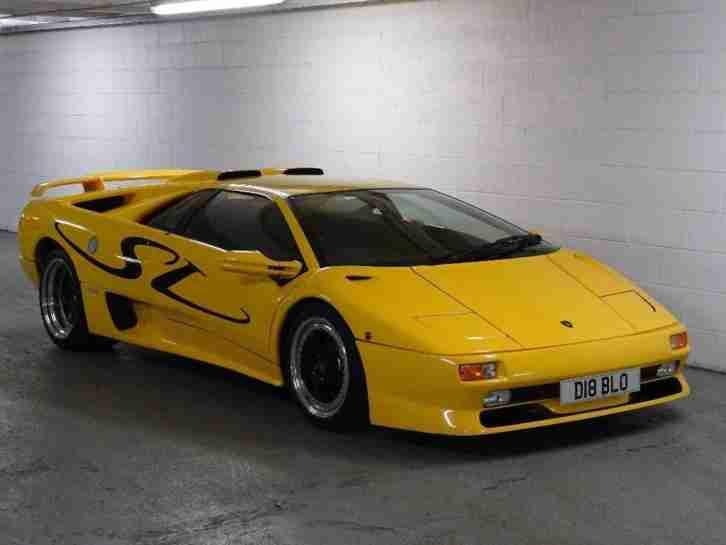 Lamborghini 1996 Diablo 5 7 Sv 2dr Car For Sale