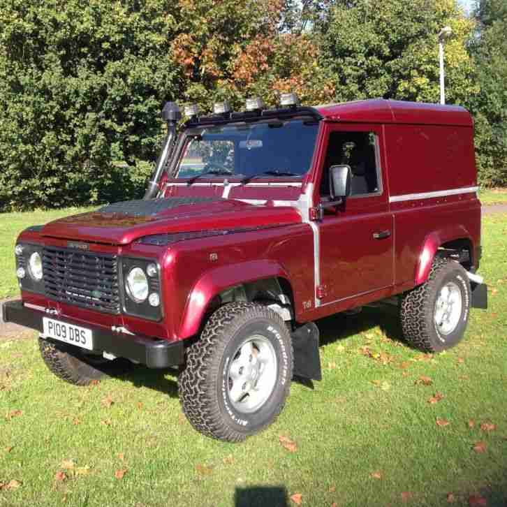 2001 Land Rover 90 Defender TD5 County Station Wagon 7