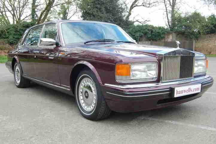 rolls royce 1996 n silver spur mk iv in wildberry car for sale. Black Bedroom Furniture Sets. Home Design Ideas