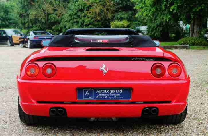 1996 (P) FERRARI F355 SPIDER MANUAL - 24K - SUPERB!