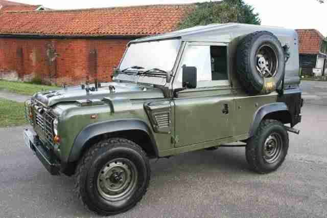 1996 P Land Rover 90 Defender Wolf 300tdi Car For Sale