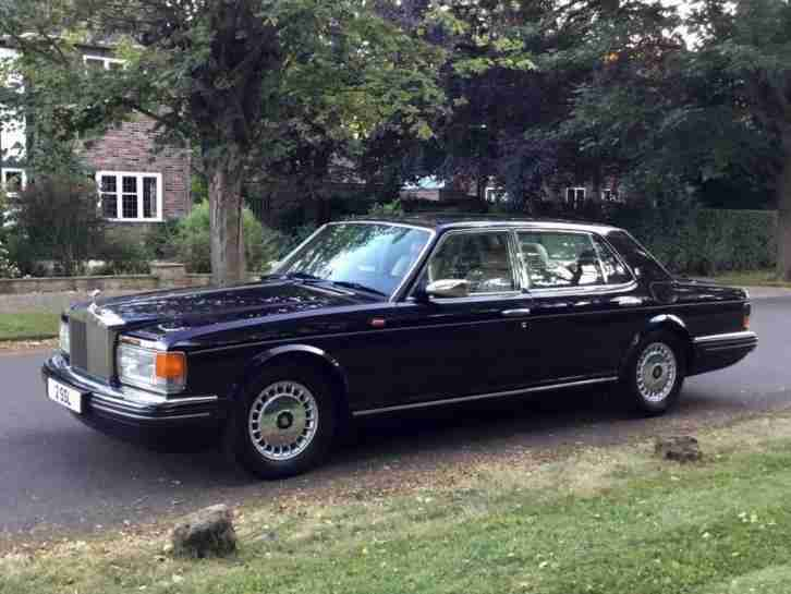 1996 P ROLLS ROYCE SILVER SPUR MK4 FINAL EDITION SERIES 6.8 V8 LWB. LOW 36K. VER
