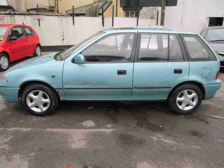 1996 SUBARU JUSTY GX AWD GREEN