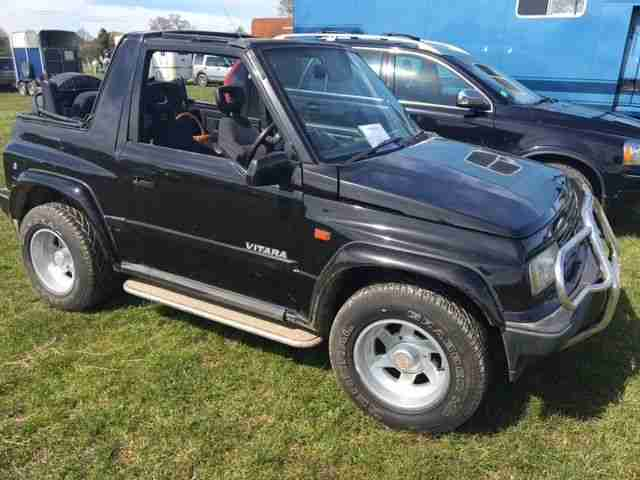 1996 VITARA JLX BLACK WIDE BOY