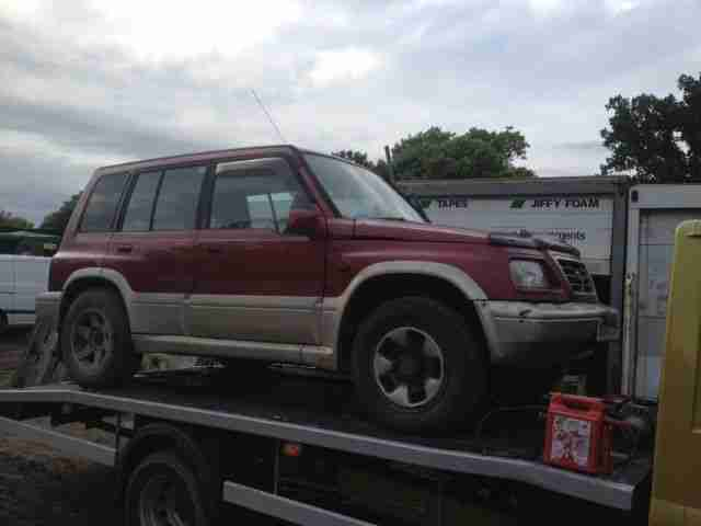 1996 VITARA V6 RED SPARES OR REPAIR