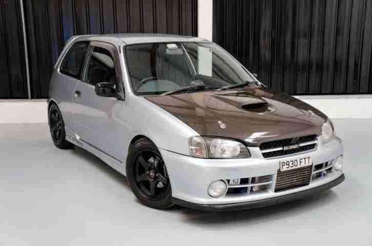 Toyota 1996 Starlet Glanza V 1 3 Turbo Import Car For Sale
