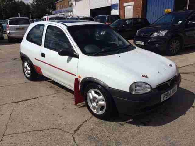 1996 vauxhall corsa 1 4 16v sport rally track endurance autotest roll. Black Bedroom Furniture Sets. Home Design Ideas