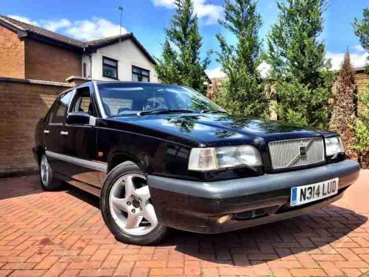 Volvo 1996 850 GLT 2.5 PETROL MANUAL BLACK CHEAP BARGAIN CLEARANCE