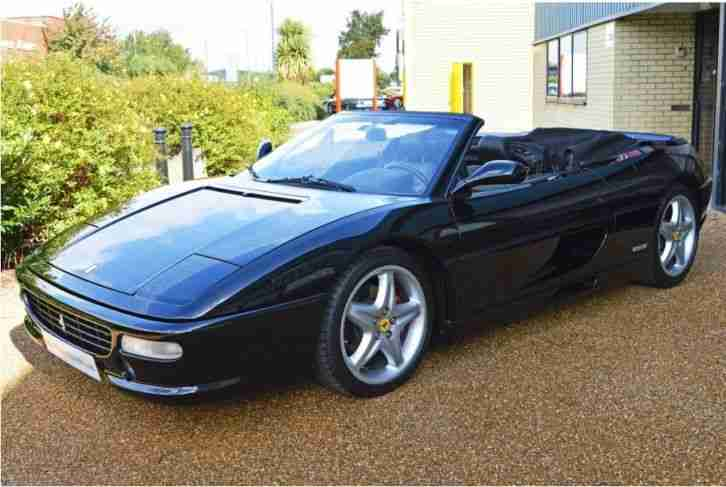ferrari 1997 98 f355 spider 6 speed manual rare colour. Black Bedroom Furniture Sets. Home Design Ideas
