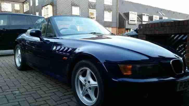 bmw 1997 z3 blue car for sale. Black Bedroom Furniture Sets. Home Design Ideas