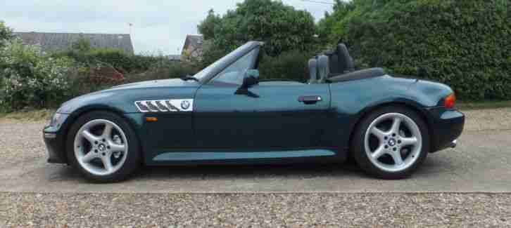 Bmw 1997 Z3 Green Car For Sale