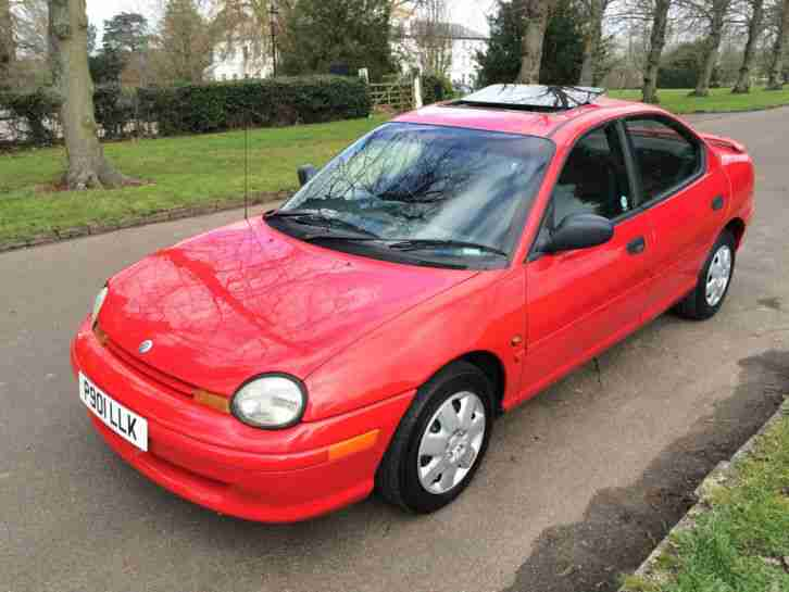 Chrysler NEON. Chrysler car from United Kingdom