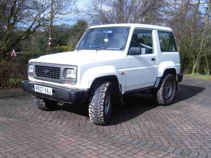 Daihatsu 1997 Fourtrak Fieldman Tds White Car For Sale