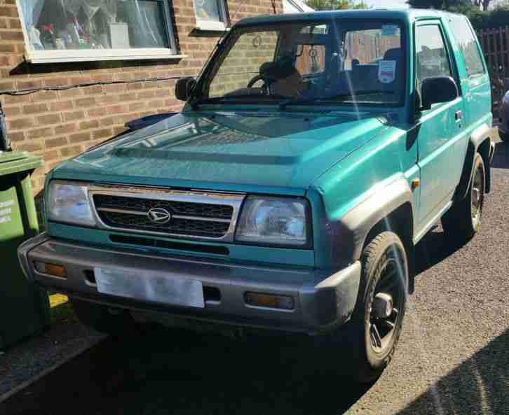 Daihatsu 1997 Sportrak Limited Green Car For Sale