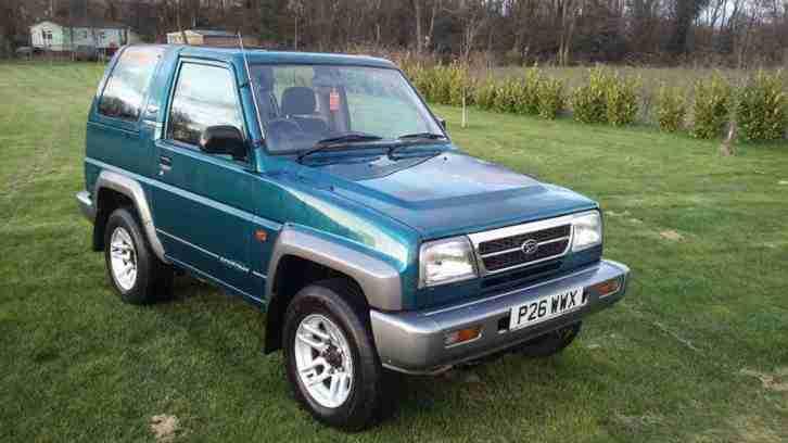 Daihatsu 1997 SPORTRAK RIVIERA 1.6 4x4 4WD 37k miles! 1 Owner!