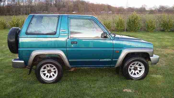 Daihatsu 1997 Sportrak Riviera 1 6 4x4 4wd 37k Miles 1 Owner border=