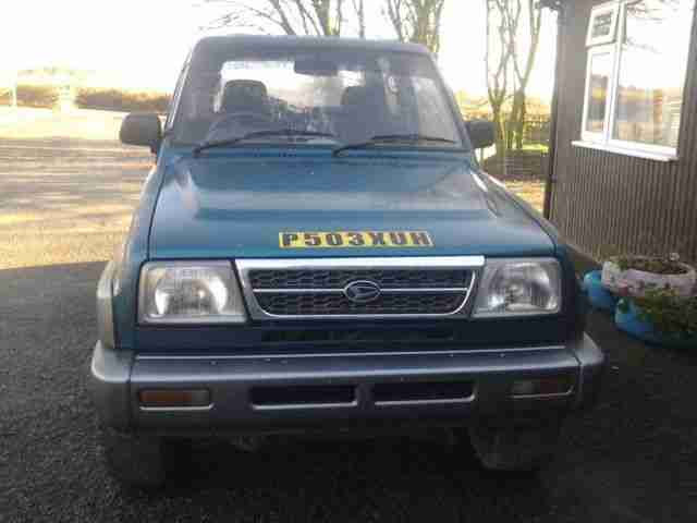 Daihatsu 1997 Sportrak Riviera Blue 4x4 Road Legal Off Road Car