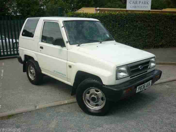 Daihatsu 1997 Sportrak Xi Se White 12 Mth Mot 1 Owner P X Welcome