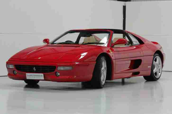 1997 Ferrari F 355 GTS RHD Manual