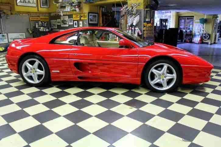 ferrari 1997 f355 gts 1 of 361 rhd models car for sale. Black Bedroom Furniture Sets. Home Design Ideas