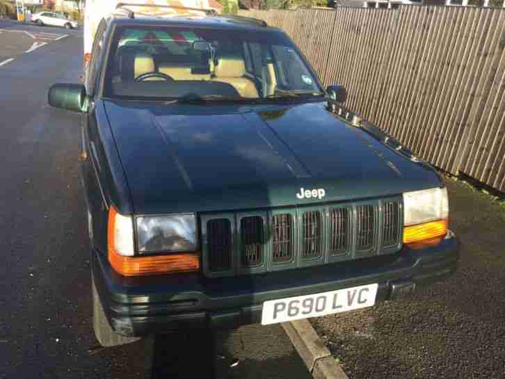1997 JEEP GRAND CHEROKEE LTD AUTO GREEN